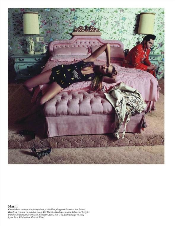 Съёмка: Дарья Вербова для французского Vogue. Изображение № 54.