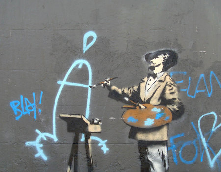 Изображение 6. Арт-терроризм Banksy.. Изображение № 5.