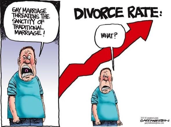 Нью ЛГБТ-Йорк: художники-карикатуристы о легализации однополых браков. Изображение № 5.
