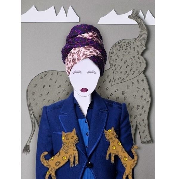 Изображение 2. Франсуа Кадьер создал коллекцию платков для Louis Vuitton.. Изображение № 2.