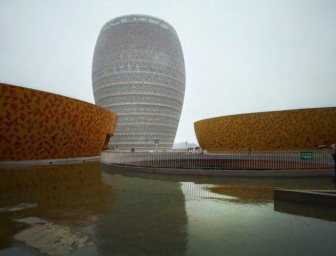 Архитектура дня: музей керамики со зданиями в форме чаш в Китае. Изображение № 4.