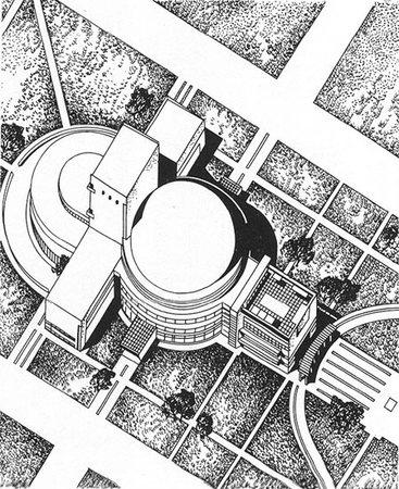 1931 Г. панорамно-планетарный театр вНовосибирске. Изображение № 3.