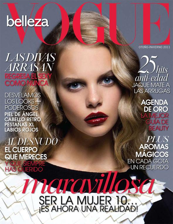 Съёмка: Марло Хорст для Vogue. Изображение № 6.