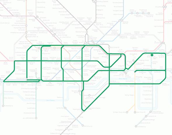 Осторожно! Звери в лондонском метро!. Изображение № 15.