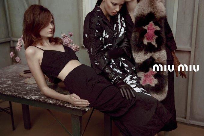Max Mara, Prada и другие марки выпустили новые кампании. Изображение № 41.