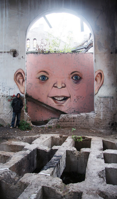 Живой стрит-арт Никиты Nomerz. Изображение № 10.
