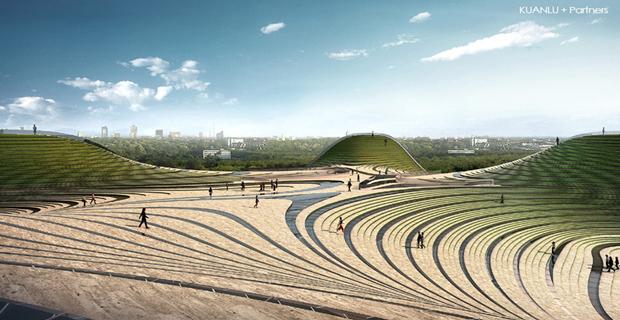 Архитектура дня: объединённые водно целое 4павильона. Изображение № 4.