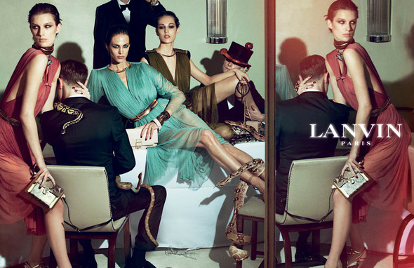 Кампания: Lanvin SS 2012. Изображение № 12.
