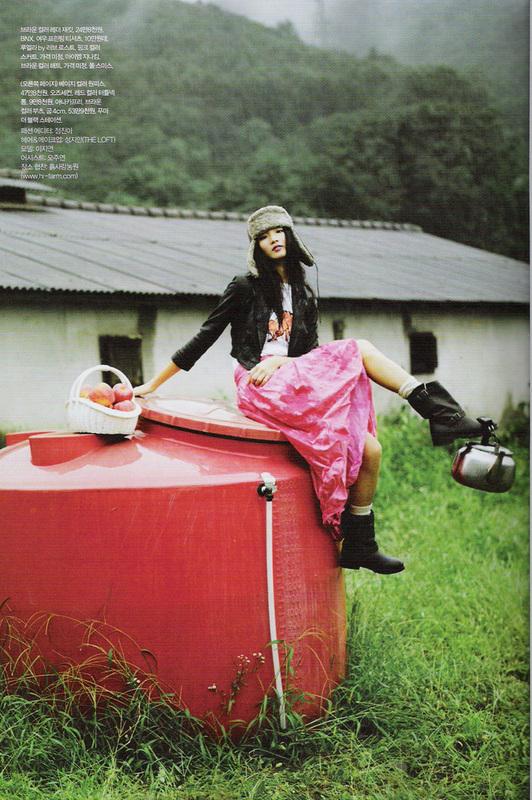 Яблочная ферма (Elle Girl Korea October 2007). Изображение № 8.