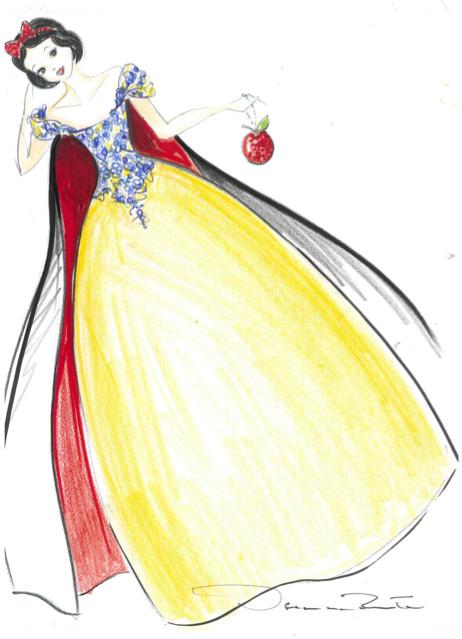10 платьев диснеевских принцеcc от мировых дизайнеров в Harrods. Изображение №11.
