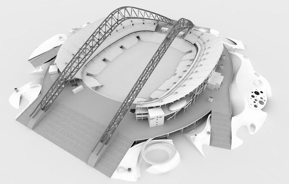 Деймон Лавелль из Populous построил главный стадион в Сочи. Изображение № 8.