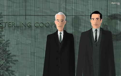 Иллюстрации к сериалу Mad Men. Изображение № 3.