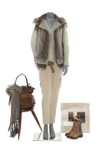Brunello Cucinelli: лукбук осень-зима 2011/2012. Изображение № 93.