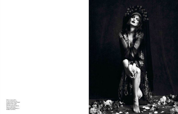 Новые съемки Dazed & Confused, Vogue, i-D и W Magazine. Изображение № 24.
