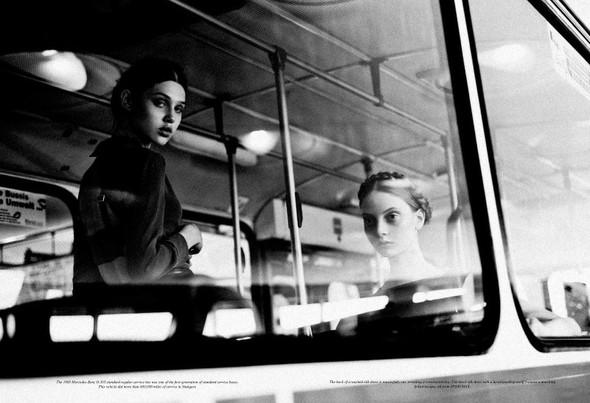 Съёмка: Анаис Пульо и Коди Янг для Grey. Изображение № 10.