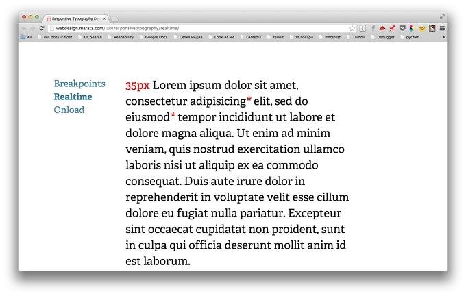Шрифт веб-страницы стал подстраиваться под пользователя. Изображение № 2.