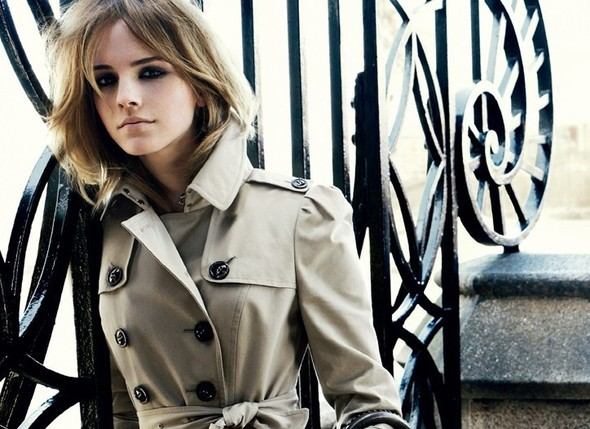 Emma Watson for Burberry : AutumnWinter 2009–2010. Изображение №6.