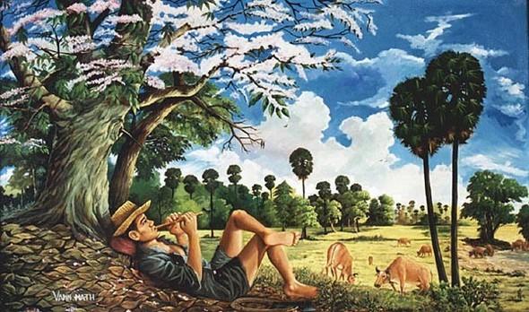 Кхмерский художник Vann Nath. Изображение № 1.
