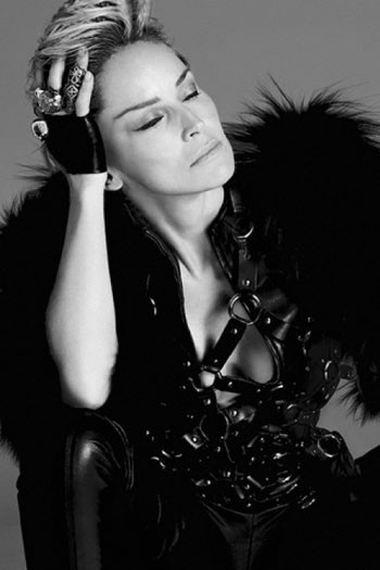 Sharon Stone forVogue Spain. Красива, какМадонна. Изображение № 4.