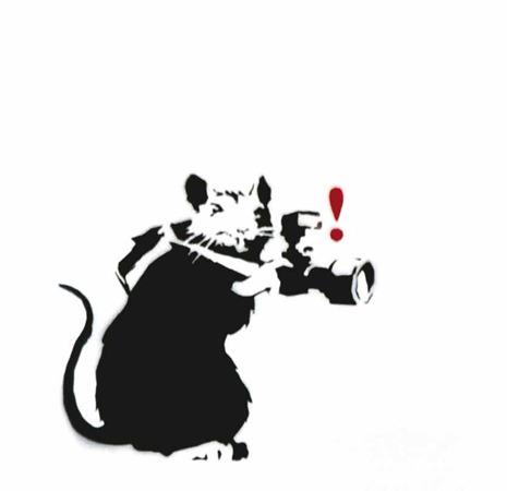 """Бэнкси """"Paparazzi Rat"""". Изображение № 3."""