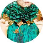 Кутюр в деталях: Перья, золото и бабочки на показе Giambattista Valli. Изображение № 7.