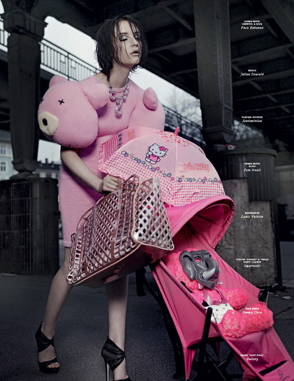 Съемки: Vogue, Numero, Tush и другие. Изображение №12.
