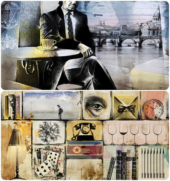 Иллюстрации для журнала и сайта «Сноб». Изображение № 22.