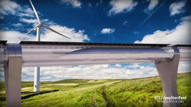 Элон Маск объявил о строительстве прототипа сверхскоростной трубы. Изображение № 1.