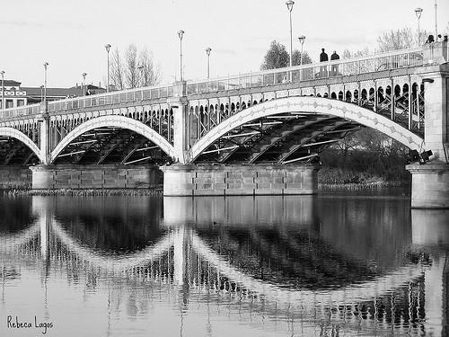 20 черно-белых фотографий мостов совсего мира. Изображение № 3.