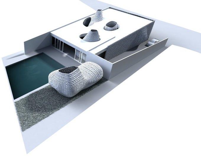 Представлена концепция распечатанного на 3D-принтере интерьера . Изображение № 6.