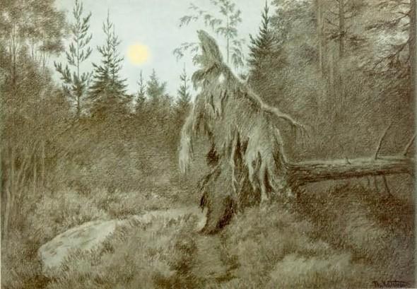Теодор Киттельсен «Ненагруженный ужас». Изображение № 6.