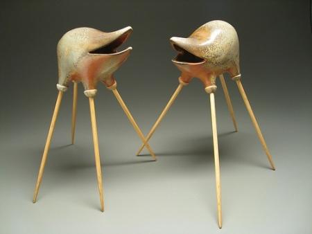 EvaFunderburgh забавные керамические монстры. Изображение № 21.
