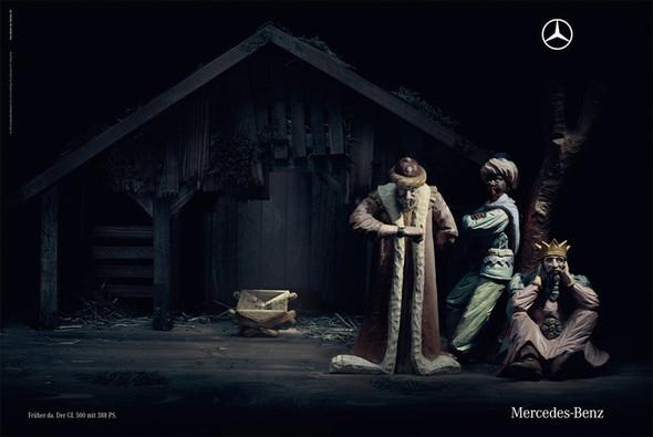 Новогоднее - Рождественский креатив в рекламе. Изображение № 51.