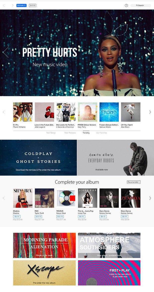 Представлен концепт глобального редизайна iTunes. Изображение № 4.