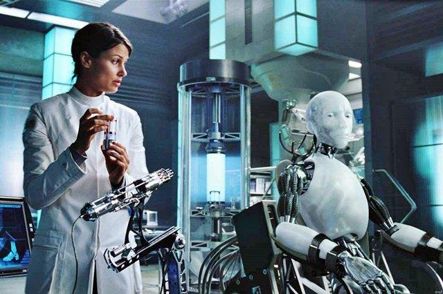 Кадр из фильма «Я, робот». Изображение № 1.
