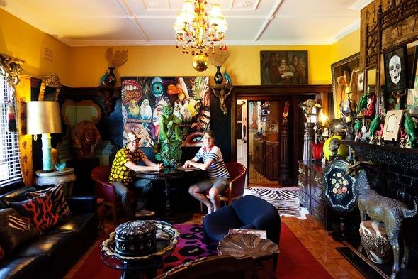 Дом двух австралийских художников.. Изображение № 1.