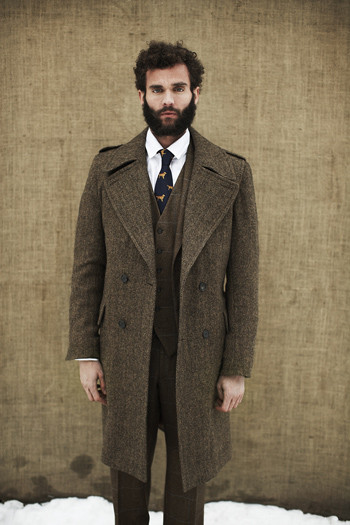 Мужские коллекции осень-зима 2010 от Hackett, Gloverall, D.S.Dundee, Barbour. Изображение № 11.