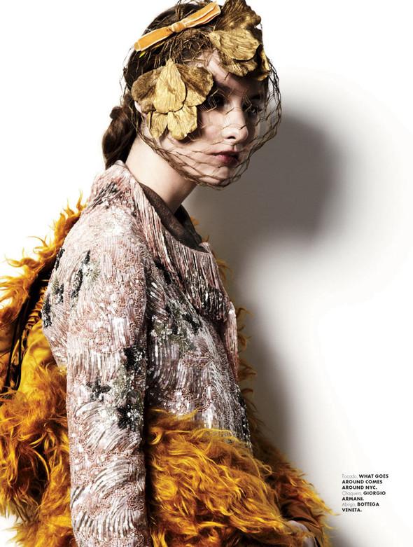 Leticia Lamb в Elle Mexico. Изображение № 2.