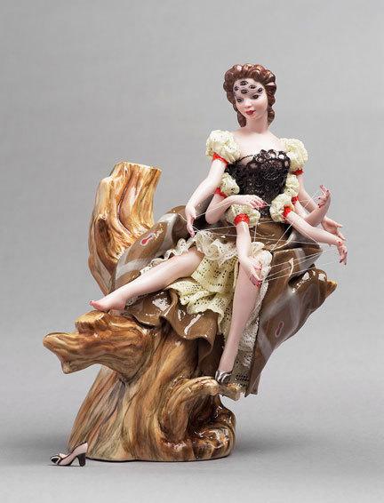 Фарфоровые статуэтки от Shary Boyle. Изображение № 9.