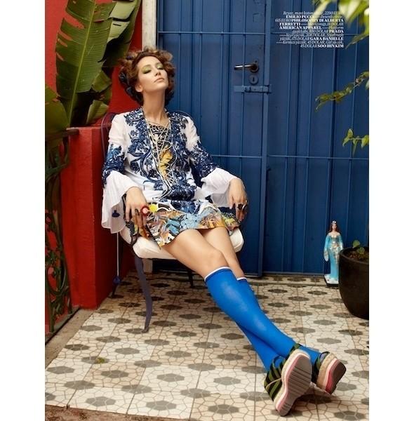 Изображение 41. Съемки: 10, Elle и Vogue.. Изображение № 40.