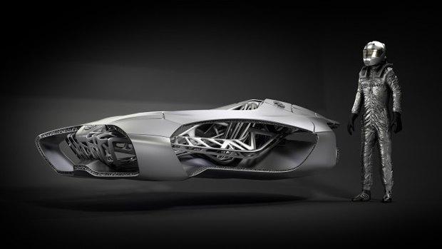 Немцы придумали, как создать автомобиль на 3D-принтере. Изображение № 1.