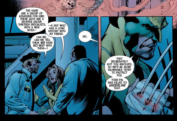Фрагмент страницы одного из выпусков арка Killable. Изображение № 1.