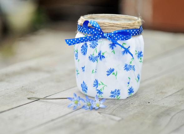 Симпатичные баночки-вазочки-подсвечники.. Изображение № 6.