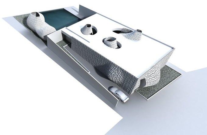 Представлена концепция распечатанного на 3D-принтере интерьера . Изображение № 5.