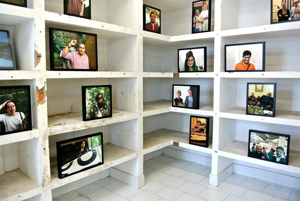 Репортаж с 1-й индийской биеннале: M.I.A., Бакштейн и граффити. Изображение № 9.