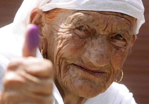 100 лет выборов в документальных фотографиях. Изображение № 120.
