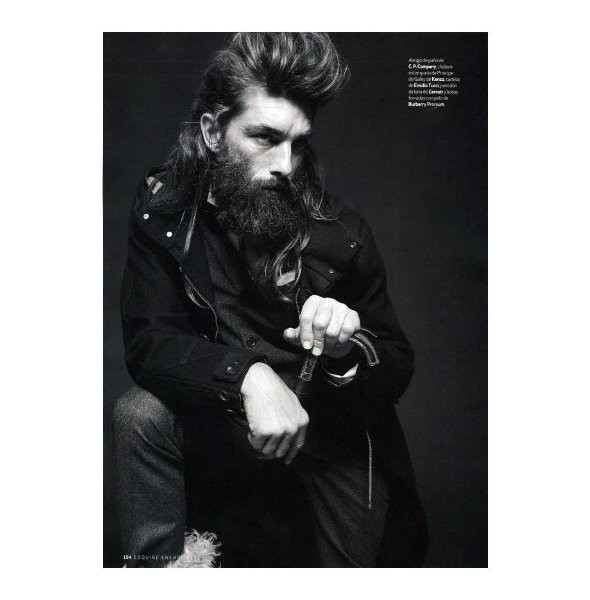 Изображение 12. Новые мужские съемки: Vogue Hommes, GQ и другие.. Изображение № 22.