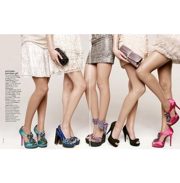 5 новых съемок: Amica, Elle, Harper's Bazaar, Vogue. Изображение № 18.