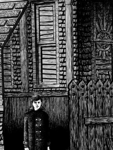 Иллюстрации, похожие на чертежи викторианской эпохи. Изображение № 3.