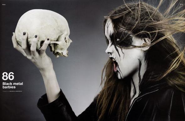 Блек-металлические барби, D-Mode, май'08. Изображение № 1.